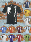 PITBULL t-shirt music strange love animal dog style