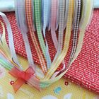 Traditional Gingham 10mm Berisfords Ribbons Cards Bows Trimmings per Metre