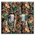 TREE CAMO CAMOUFLAGE II LIGHT SWITCH COVER PLATE OUTLET