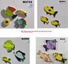 3 ASSORTED  FISH  - HANDMADE, CERAMIC MOSAIC TILES ( Pick you Group )#16