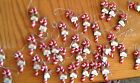 NEW CANDY CANE CHRISTMAS ORNAMENT/GIFT TAG  A~C names in drop down variations