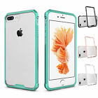 Shockproof Hybrid Rubber Bumper Clear Back Cover Case For Apple iPhone 7 7 Plus