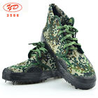 SURPLUS CHINESE ARMY PLA CAMO KUNGFU TACTICAL TRAINING LIBERATION SHOES BOOTS #6