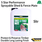 Everbuild Sprayable Shed and Fence Mate Treatment | Protect and Preserver Timber