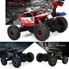 New Off Road 4WD Remote Control 1/18 2.4G Rock Crawler Radio RC RTR Car Toy UK