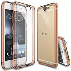 For HTC One A9 | Ringke [FUSION] Clear PC Back Shockproof Protective Case Cover