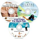 Back Pain Triple DVD Set | Stop Back Ache With Pilates, Stretching & Massage
