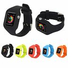 Sports Silicone Band Strap + Protective Case For Apple Watch Series 2 38mm 42mm