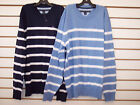 Boys Tommy Hilfiger Striped Sweaters w/ Ornge Elbow Patches Size 16/18 - 20