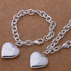 wholesale Jewelry Set GiftsSilver Bangle /Necklace/ Bracelet /Earring/Ring S925