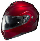 HJC IS-MAX 2 WINE BERRY SOLID Modular helmet DOT FREE SHIPPING
