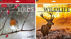 BRAND NEW 2017 BIRDS WILDLIFE SQUARE WALL CALENDAR MONTH TO VIEW FACTS & FIGURES