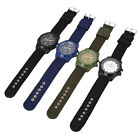 Men's Outdoor Stainless Steel Military Sports Analog Army Wrist Watch Gift