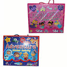 Children's 4 Book Sticker Activity Carry Pack - Adventure or Princess
