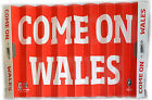 RUGBY COME ON WALES FAN/SLAPPER SUPPORTERS CARDBOARD CHEERING FAN USED GOOD CON