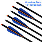 Crossbow Bolts Aluminum Archery Arrows Target Hunting Shooting Field Points 2216
