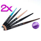 2x Famous By Sue Moxley Eyeliner Eye Liner Pencil & Super Soft Khol Brand New