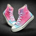 Harajuku Star Pattern Kids Children Hand-painted Canvas Shoes Boy Girl's Sneaker