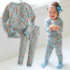"Vaenait Baby Toddler Kids Girls Clothes Lacy Pajama Set ""Flower Mint"" 12M-7T"