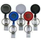 3 Recoil Retractable YoYo Key Ring Pull Chain Belt Clip ID Card Holder Ski Pass