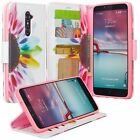 For Blackberry DTEK50 Wallet Fold Stand Phone Case Cover Money and Card Slot