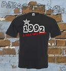 T-SHIRT DATE OF BIRTH 1992 A STAR WAS BORN gift idea humor funny