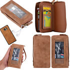 NEW Seperated 2in1 Zipper Card Holder Wallet Back Case For Samsung Galaxy Note 7