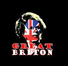 Margaret Thatcher Inspired Men's T-Shirt Tory Political Homage Great Briton Blue