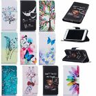 Beautiful Magnetic PU Leather Stand Card Wallet Flip Case For Apple/LG Phones