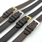Super long Ladies XXL Leather Watch Band Strap 10mm 12mm 14mm Black or Brown