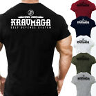 MENS KRAV MAGA SELF DEFENSE SYSTEM T SHIRT FIGHTING TRAINING