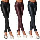 Sexy New Women's Trousers With Zippers And Stylish Pockets Skinny Slim G 907
