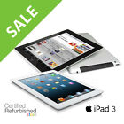 iPad 3 | 16GB/32GB/64GB | AT&T, Verizon or WiFi Only Tablet (Black or White)