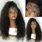 Afro Kinky Curly  100% Brazilian Remy Human Hair  Lace Front/Full Lace Wigs