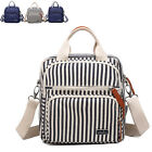 Convertible Water Resistant Baby Diaper Bag Backpack Nappy Changing Shoulder Bag