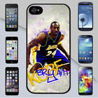 Kobe Bryant Los Angeles Lakers Art Graffiti for iPhone & Galaxy Case Cover