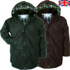 MidLAND Countryman Wax Jacket Padded Coat Cotton Fishing Hunting Riding Sale