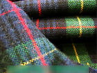 Acrylic & Cotton Tartan Specific Color Sample Selection(sample size:10cm x 10cm)