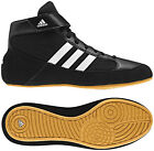 Adidas HVC 2 Adult Mens Wrestling Shoes AQ3325 Black/White US Men's Shoe Sizes