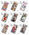 Fashion French Collage Lips Design Hard Back Cover Case for iPhone 6 6S 7