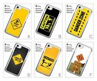 Road Sign Caution Warning Hard Back Cover Case for iPhone 6 6S 7