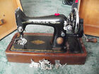 vintage hand sewing machine