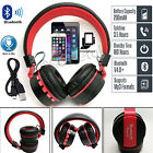 Foldable Wireless Bluetooth Headphones Stereo Headsets For All Mobile Phones PC