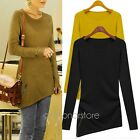 2016Style Womens T-Shirt Cotton Polyester Round Collar Long Sleeve Autumn/spring