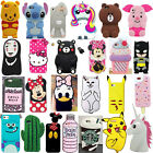 3D Soft Silicone Phone Case Cover Skin For iPhone 4/4s/5/5S/6/6s Plus/7/7 Plus