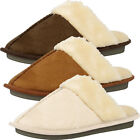 Memory Foam Mule House Slippers  Womens Size