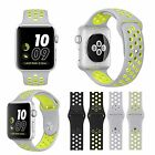 Silicone Sports Replacement Bracelet Strap For Apple Watch Bands Series 2 /1 S/L