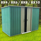 """Garden Shed Metal Apex Roof with FREE Foundation Woodside Darlington 4"""" -10"""""""