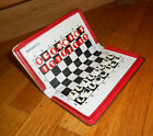 Rare Russian Vintage USSR Travel  road Pocket Magnetic CHESS  games set