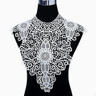 1pc Black/White Neckline Lace eye Flower Collar Charming Sewing Applique Craft